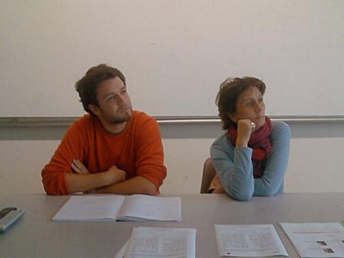 Thomas Garric et Laurence Aubron d'Eur@dionantes